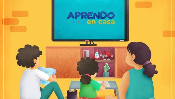 Los contenidos de Aprendo en Casa, en su plataforma virtual, televisiva y radial, son elaborados por un equipo multidisciplinario integrado por más de 100 profesionales de la educación (Foto: Minedu)