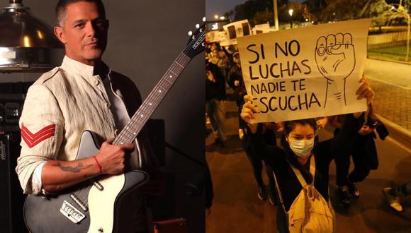 Alejandro Sanz se pronuncia en redes sociales tras salida de Manuel Merino. (Foto: @alejandrosanz/GEC)