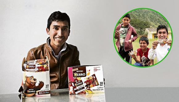 Julio Garay Barrios, el creador de las galletas que buscan reducir los índices de anemia