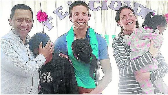 Esposos americanos adoptaron hace dos años a niña peruana y ahora vuelven por su hermanito (FOTO)