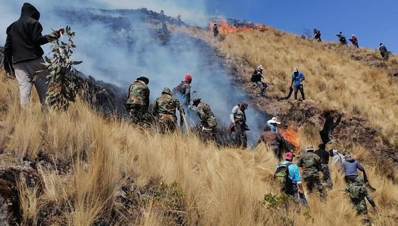 Piura: reportaron nuevo incendio forestal en provincia de Ayabaca (Foto referencial).