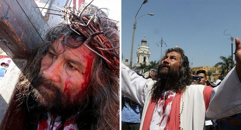 Cristo Cholo muestra recuperación y desea participar del Vía Crucis