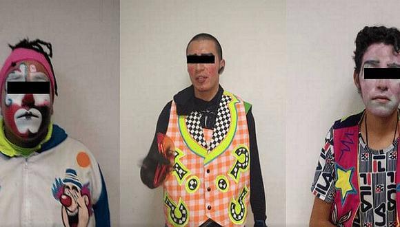 Tres hombres disfrazados de payasos intentaron secuestrar a niña de 7 años