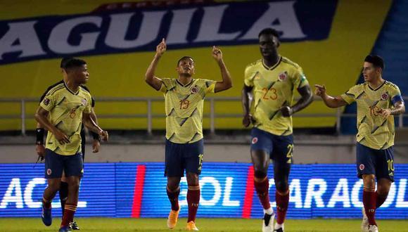 Colombia venció 3-0 a Venezuela en la primera fecha de las Eliminatorias. (Foto: AFP)