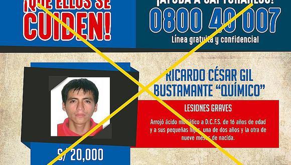 Chiclayo: salvaje tiró ácido muriático a dos niñas y mamita, pero le dan esta pena...