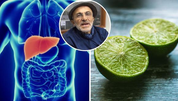 Conoce la receta secreta del doctor Pérez Albela para limpiar el hígado graso con tan solo un limón | VIDEO