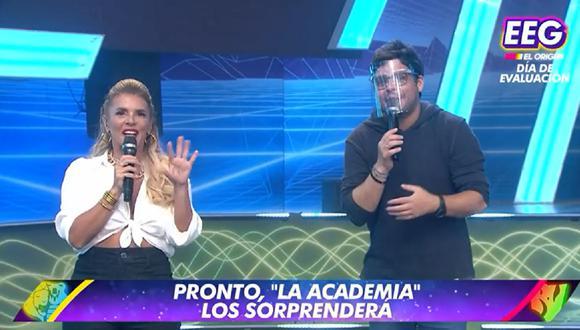 """""""La academia, desafío y fama"""" es el nombre del nuevo formato del programa juvenil. (Foto: Captura América TV)."""