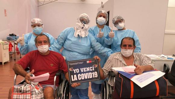 Cinco pacientes son dados de alta tras superar el COVID-19 (Foto: Gore Lambayeque).