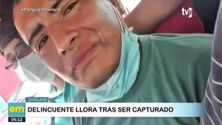 """""""Dame una oportunidad, ya no voy a robar"""": la súplica de un delincuente tras ser detenido"""
