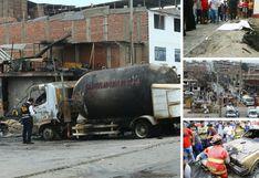 Explosión en Villa El Salvador: Las imágenes de una tragedia que se pudo evitar | FOTOS