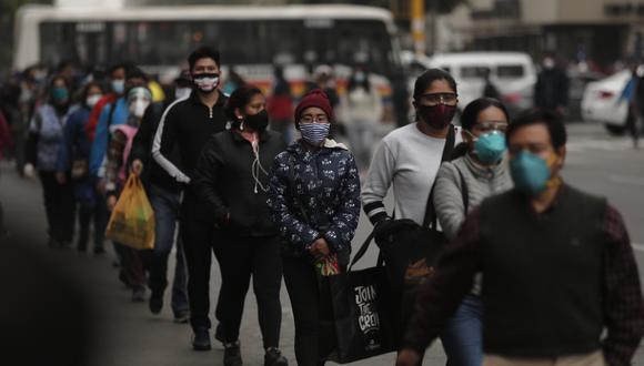 Minsa actualizó las cifras de avance de la pandemia del COVID-19. (Foto: Leandro Britto)
