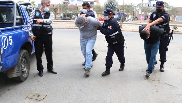 Brigada Anticrimen limpiara la delincuencia en el distrito de Comas. (Municipalidad de Comas)
