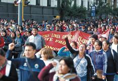 Anuncian paro nacional de profesores para el jueves 21 noviembre