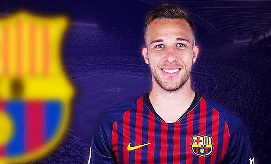 Centrocampista brasileño Arthur Melo es nuevo jugador del Barcelona