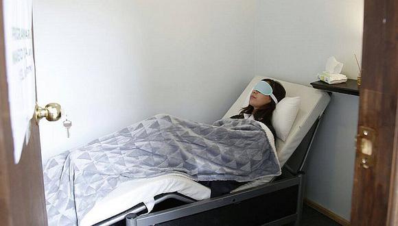 Universidad ofrece camas a sus estudiantes para descansar entre clases (FOTOS)