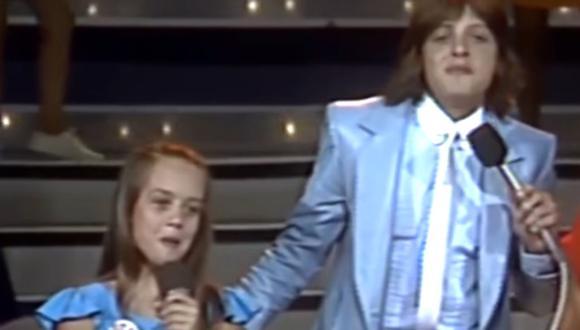 """Fue en el año 1984 cuando Luis Miguel asistió como invitado al programa televisivo mexicano """"XeTú"""", donde conoció al cantante ( Foto: Club Fey Vértigo / Youtube)"""
