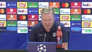 """Ronald Koeman: """"Mañana nos jugamos nuestro futuro en la Champions"""""""