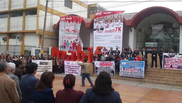 Inabif: Trabajadores denuncian desabastecimiento de insumos básicos [VIDEO]