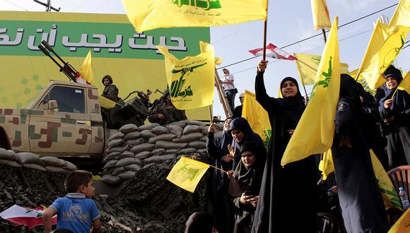 """Hezbola, el """"Partido de Dios"""", antes derrotó e hizo huir a Israel del Líbano."""