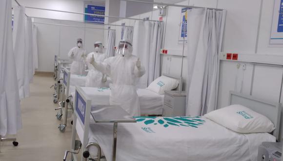 Pacientes con COVID-19 empezarán a ser atendidos en nuevo centro temporal de Abancay (Foto: Gore Apurímac).
