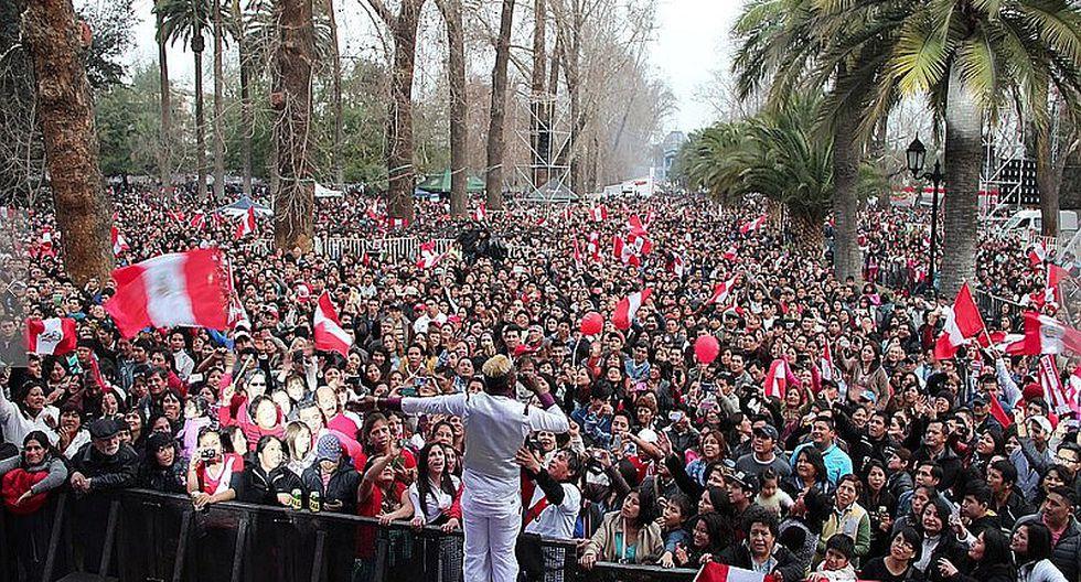 Fiestas Patrias: Peruanos en Chile celebraron así la independencia [FOTOS]