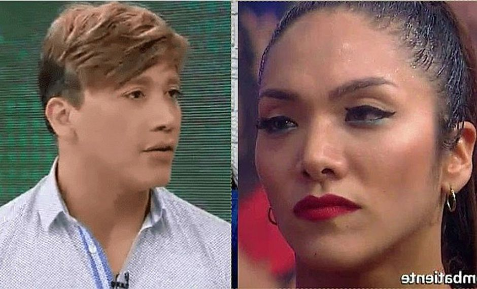 Isabel Acevedo incómoda tras declaraciones de Arturo Chumbe y su supuesta infidelidad (VIDEO)