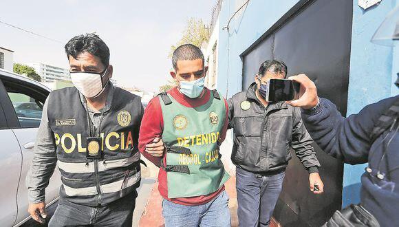 Eduardo Paolo Barboza Márquez fue detenido el pasado 26 de mayo en Comas. (Foto: GEC)