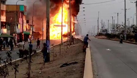Villa El Salvador: Muere niño de 13 años y aumenta a 27 la cifra de víctimas por  incendio de camión cisterna