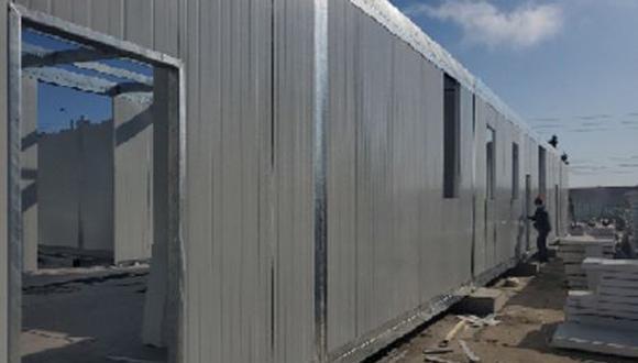 Piura: en octubre empezará a funcionar el hospital modular de Talara (Foto difusión).