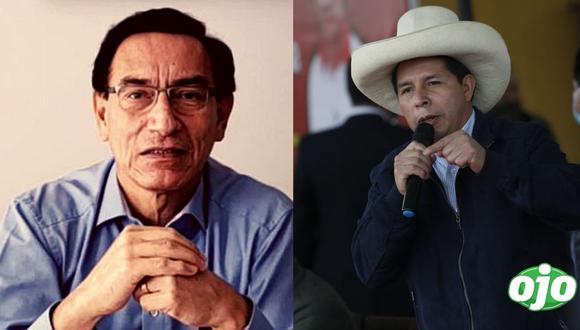 """Vizcarra jura que no será parte del gobierno de Pedro Castillo: """"me mantendré  al margen"""""""
