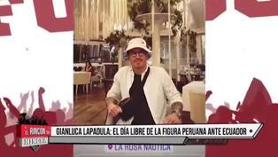 Gianluca Lapadula: ¿Cómo vivió su día libre en Lima?