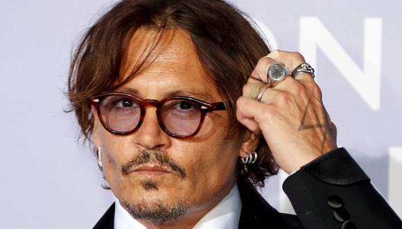 Johnny Depp intenta nuevo juicio contra diario inglés que lo presentó como un marido violento. (Foto: AFP)