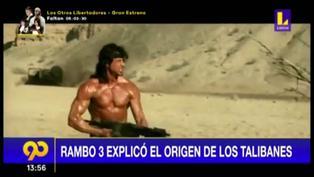 """Película """"Rambo 3″ explicó el origen de los Talibanes en Afganistán"""