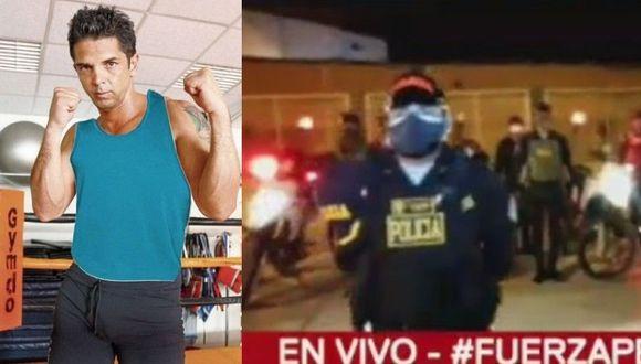 Policía busca en domicilios y tres provincias a los delincuentes que atacaron a Luis Miguel Llanos. (GEC/ Captura Latina)