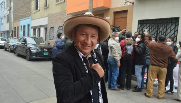 Guido Bellido juró como primer ministro este jueves. (Foto: Facebook)
