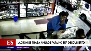 México: ladrón se traga anillos de oro tras ser descubierto