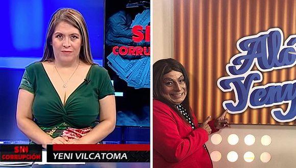 Yeni Vilcatoma: 'El Wasap de JB' hará parodia de su programa en el canal del Congreso