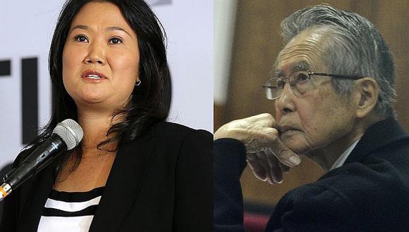 Keiko Fujimori responde mensaje de su padre a través de redes sociales