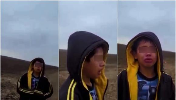 Un niño fue encontrado caminando solo en el desierto de Texas y pidió ayuda a una patrulla fronteriza. (Foto: @pedroultreras / Twitter)