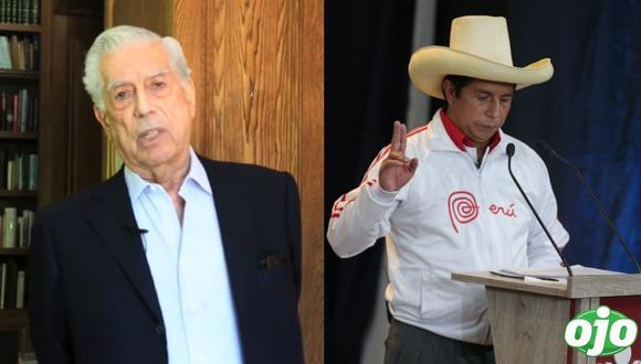 """Mario Vargas Llosa: """"Castillo representa la dictadura y el atraso en los cinco años que estaría en el Gobierno"""""""