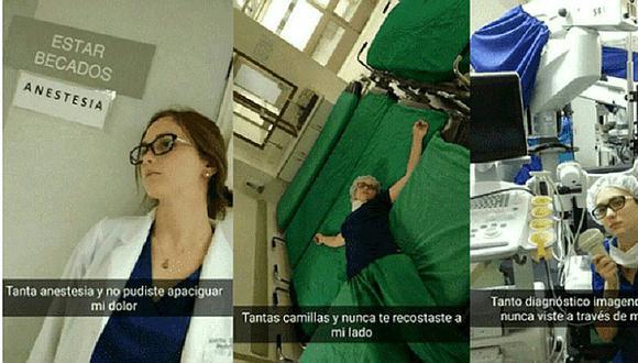 Doctora engañada por su novio recrea infidelidad de la manera más creativa (FOTOS)