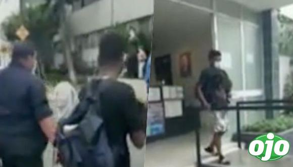Tras ocurrir el hecho, el hombre de nacionalidad venezolana fue detenido y llevado a la comisaría del distrito de Miraflores. Foto: RPP