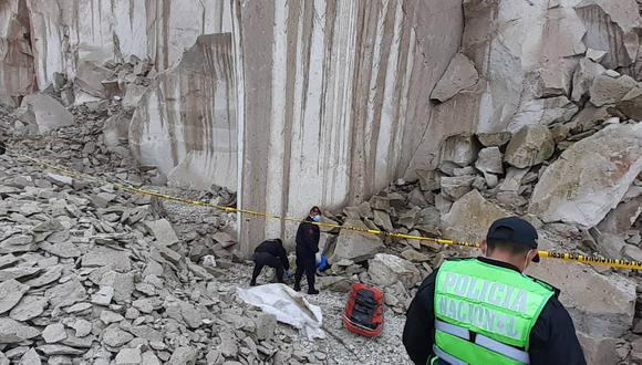 Arequipa: Joven muere al caer a profunda cantera de sillar (GEC)