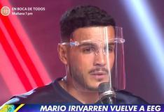 """Mario Irivarren: """"Pido disculpas a todos los que se sintieron defraudados con mi actitud"""""""