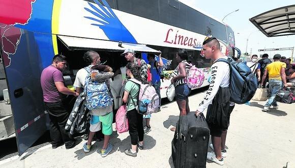 Empresas de transporte interprovincial para pasajeros en general retomarían sus operaciones en la tercera fase, señaló Carlos Canales, presidente de Canatur (Foto: César Campos / GEC)