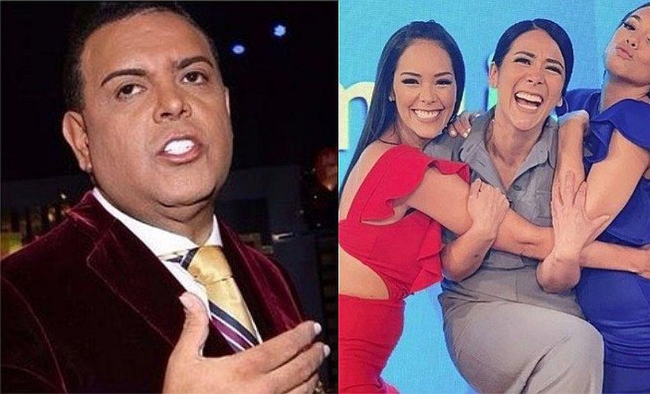 """Se detestan"": Andrés Hurtado sobre Jazmín Pinedo, Karen Schwarz y Magdyel Ugaz"