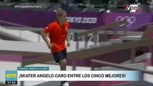 Angelo Caro, el skater peruano ubicado en el top 5 de Tokio 2020