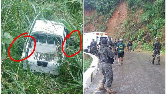 Vraem: dos policías muertos deja emboscada a una patrulla (FOTOS)