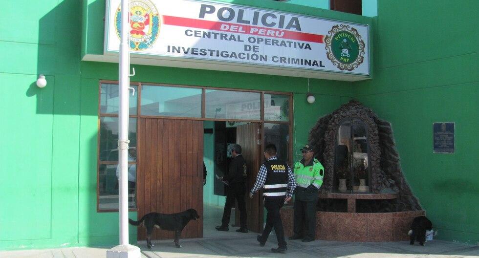 Policías de la División de Investigación Criminal (Divincri) de Arequipa investigan el caso. (Foto: GEC)