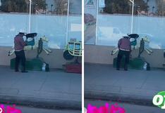 Perrito montado sobre caballito de juguete enternece el Tik Tok   VIDEO